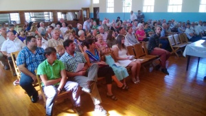 Farewell service at Twee Riviere Hall - Sunday, 8 February