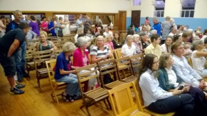 Gathering for Evening of Dedication - Twee Riviere Hall, 6 Feb 2015